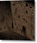 Cavern Walls Metal Print