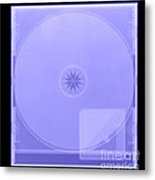 Cd With Security Device Metal Print