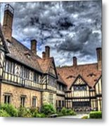 Cecilienhof Palace At Neuer Garten Berlin Metal Print