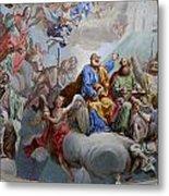 Ceiling Fresco - Karls Church Metal Print