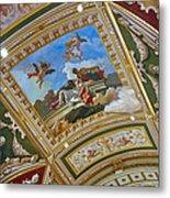 Ceiling Inside Venetian Hotel Metal Print