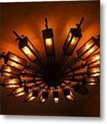Ceiling Light At One O Clcok Metal Print