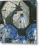 Ceiling Sails Metal Print