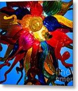 Celestial Glass 7 Metal Print