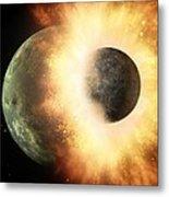 Celestial Impact, Artwork Metal Print