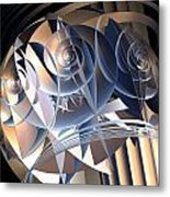 Cellular Orientation Metal Print