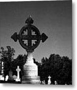 Celtic Cross- Natchez Mississippi Metal Print