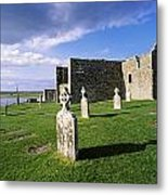 Cemetery In Front Of A Monastery Metal Print
