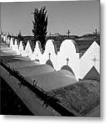 Cemetery Spain Three Metal Print