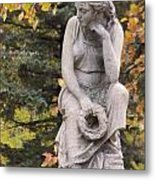 Cemetery Statue 1 Metal Print