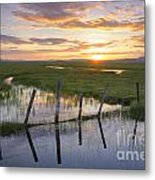 Centennial Sunset Metal Print