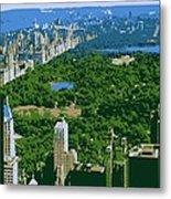 Central Park Color 6 Metal Print