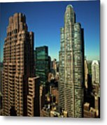 Central Park South From Above Metal Print