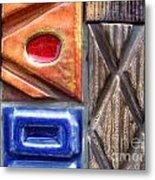 Ceramic Tiles Metal Print
