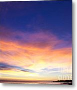 cf 518 A Blue sunset Metal Print
