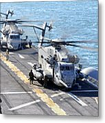Ch-53e Super Stallion Helicopters Metal Print