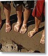 Chaco Sandals Metal Print