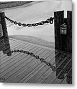 Chained Together Metal Print