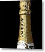 Champagne Neck Metal Print