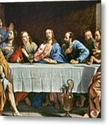 Champaigne: Last Supper Metal Print