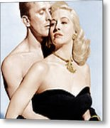 Champion, From Left Kirk Douglas Metal Print