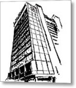 Chancellor Hotel In Fayetteville Ar Metal Print