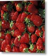 Chandler Strawberries Metal Print