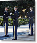 Changing Of The Guards  Metal Print
