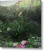 Chaos In Morning Mist Metal Print