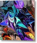 Chaotic Visions Metal Print