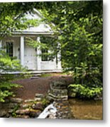 Chapel At Hickory Run State Park Metal Print