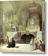 Chapel Of The Annunciation Nazareth Metal Print