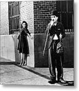 Chaplin: Modern Times, 1936 Metal Print