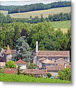 Charente Village Metal Print
