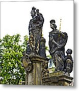 Charles Bridge - Prague Metal Print