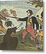 Charles Gibbs, American Pirate Metal Print