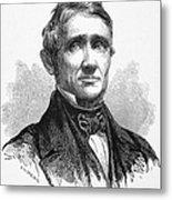 Charles Goodyear /n(1800-1860). American Inventor. Line Engraving, 19th Century Metal Print