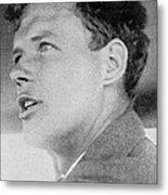 Charles Lindbergh, Us Aviation Pioneer Metal Print