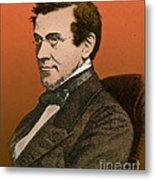 Charles Wheatstone, English Inventor Metal Print