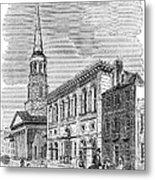 Charleston, 1857 Metal Print