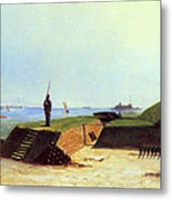 Charleston Battery, 1864 Metal Print