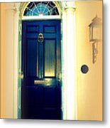 Charleston Door 3 Metal Print