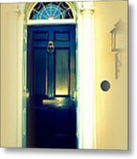 Charleston Door 7 Metal Print