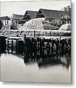 Charleston South Carolina - Vanderhorst Wharf - C 1865 Metal Print