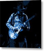 Playing The Blues At Winterland In 1975 Metal Print