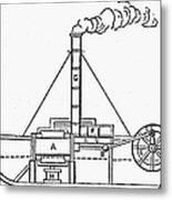 Charlotte Dundas, 1801 Metal Print