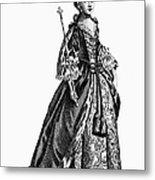Charlotte Sophia (1744-1818) Metal Print by Granger