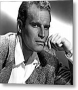 Charlton Heston, 1950s Metal Print