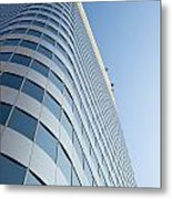 Chase Bank Building Denver Colorado Metal Print