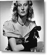 Chase, The, Michele Morgan, 1946 Metal Print by Everett